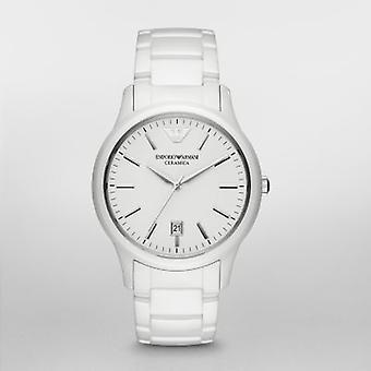 Emporio Armani Ar1476 Men's White Ceramica Watch