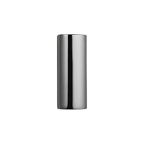 Silver 33x13x10mm handmade plain oval Memorial Cylinder