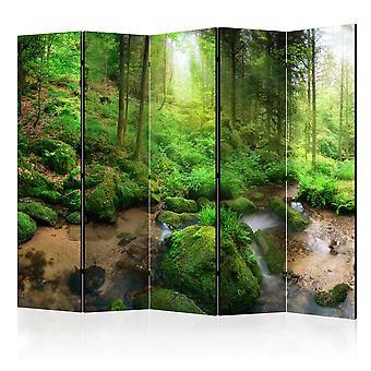 Vouwscherm - Humid Forest II [Room Dividers]