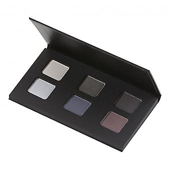 Avril Cerified organicznych paleta cieni do oczu 6 kolorów - dymny