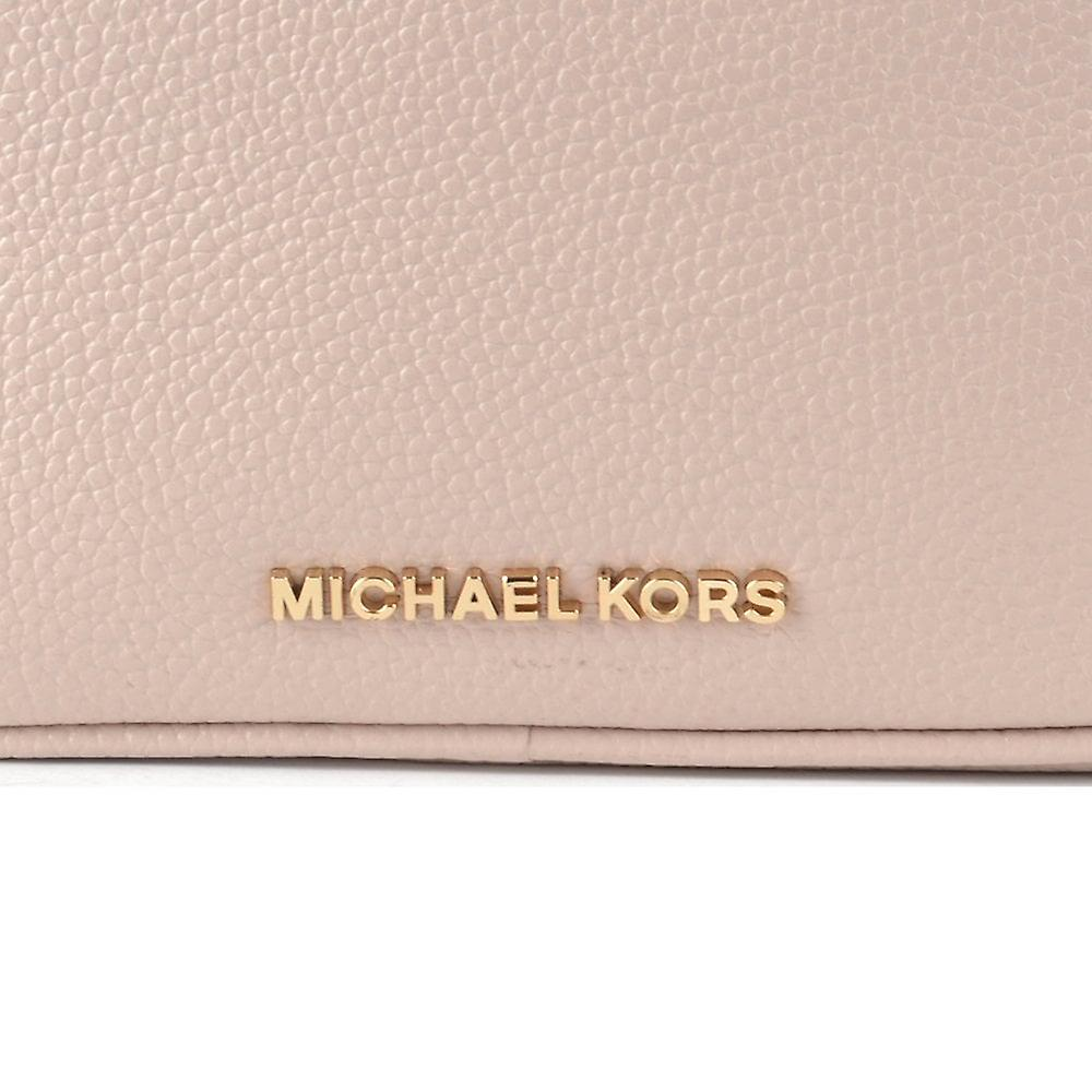 MICHAEL by Michael Kors Soft Pink Pebbled Leather Camera Bag