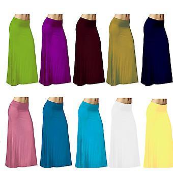 Dbg women's women's maxi high waist rayon skirts