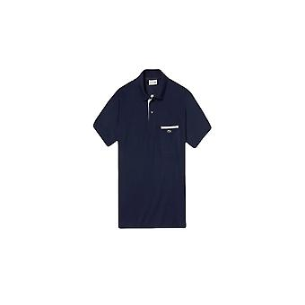Lacoste Classic Fit Pocket Polo skjorte Navy