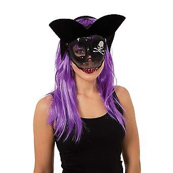 Bristol nyhed dame/damer transparent Evil pirat maske