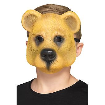 Bære barn maske halvmaske Carnival bear animal mask