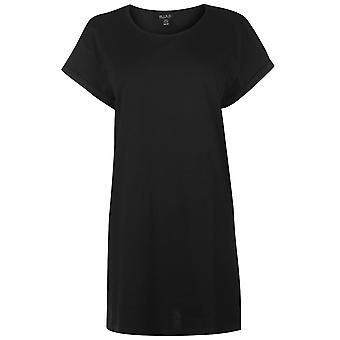 Miso Womens Long Length Boyfriend T Shirt T-Shirt Tee Top Ladies Short Sleeve