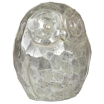 Wellindal Silver Owl Figure (Decoration , Figures and statues)