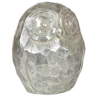 Wellindal Серебряная сова фигура (украшения, фигуры и статуи)