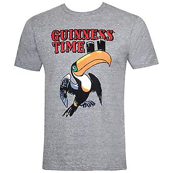Guinness Toucan Time Grey Tee Shirt