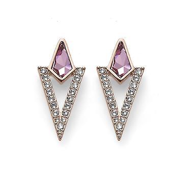 Earring lokaliseren RG antiek roze