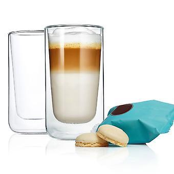 Set 2 pezzi Thermo Glasses Latte Macchiato