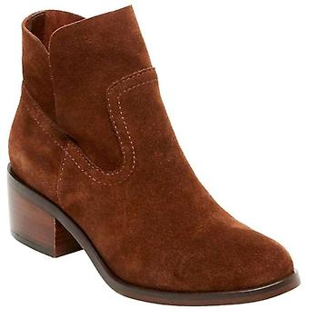 Steve Madden Womens Leo Leather Almond Toe Ankle Fashion Boots