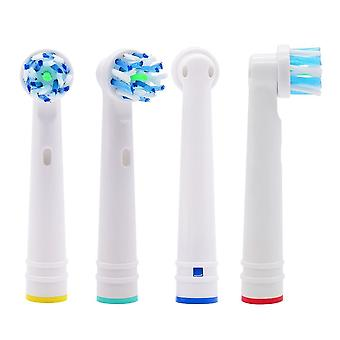 4x EB50-P Oral-B compatible toothbrush heads