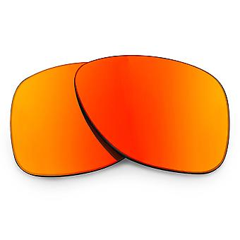 Replacement Lenses for Oakley Dispatch 2 Sunglasses Red Mirror Anti-Scratch Anti-Glare UV400 by SeekOptics