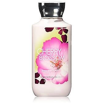 Bath & Body Works Cherry Blossom Body Lotion 8 oz / 236 ml (Pack of 2)