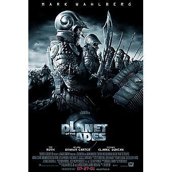 Planet of the Apes 2001 (tyyli B) (2001) alkuperäinen elokuva-juliste