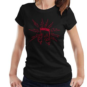 Zits Red Electric Notes Women's T-Shirt