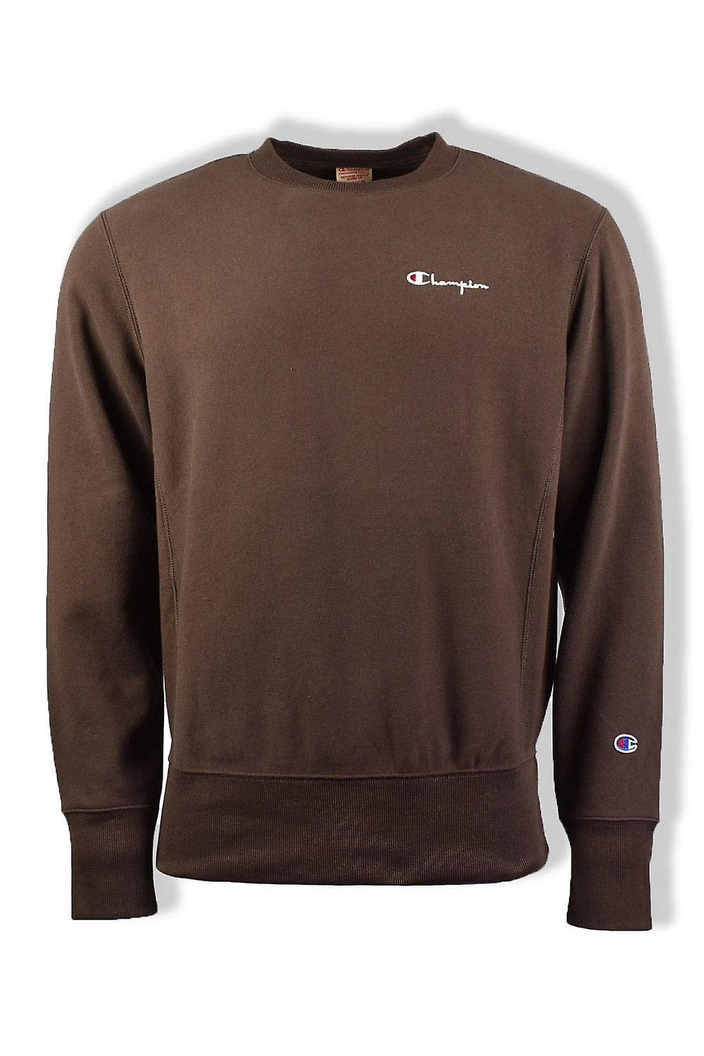 Champion Reverse Weave Sweatshirt (Brown)