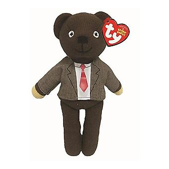 Ty Beanie Babies Mr Bean Teddy Jacket & Tie Toy