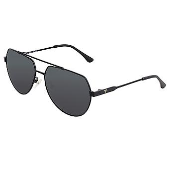 Sixty One Costa Polarized Sunglasses - Black/Black