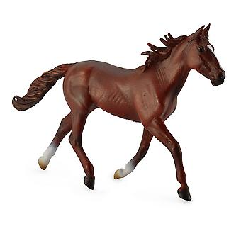 CollectA Standardbred Pacer Stallion - Chestnut