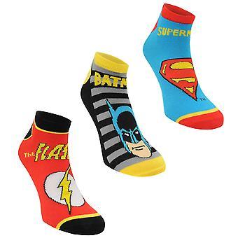 Character Kids Trainer Socks 3 Pack Junior