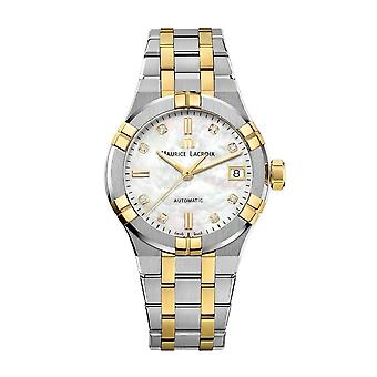 Maurice Lacroix AI6006-PVY13-170-1 Women's Aikon Automatic Diamond Wristwatch