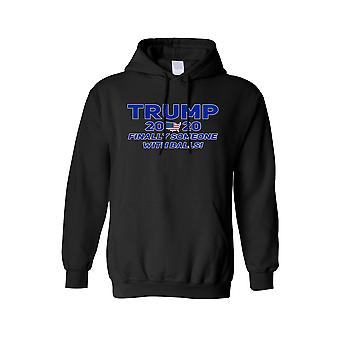 Unisex Trump Finally Someone With Balls Hoodie