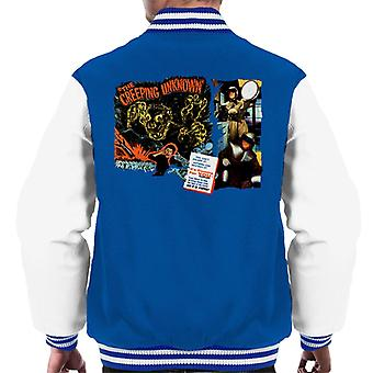 Hammer Horror Films Quatermass Creeping Unknown Men's Varsity Jacket