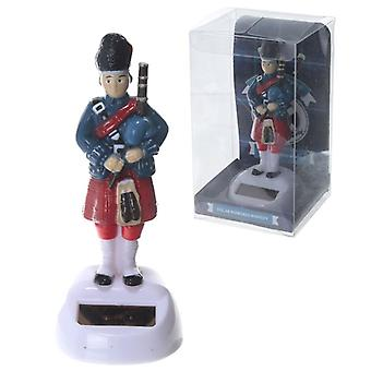 Scottish Piper Solar Flip Flap Pal by Puckator