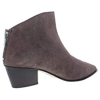 DKNY Damen Bason Wildleder Block Ferse Booties Taupe 8.5 Medium (B,M)