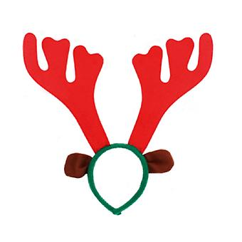 Seasons Greetings Reindeer Antler Headband