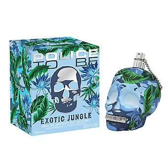 Police To Be Exotic Jungle For Man Eau de Toilette 75ml EDT Spray