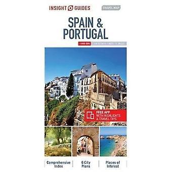 Insight guider resor karta över Spanien amp Portugal av Insight guider