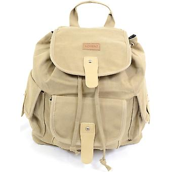 Canvas Travel / Work / School / Holiday Rucksack / Backpack - Khaki