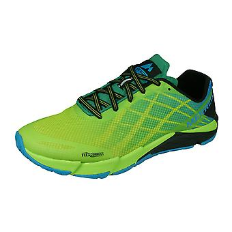 Merrell Bare Access Flex Mens Trail Running Trainers / Shoes - Green