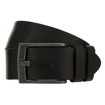 Teal Belt Men's Belt Leather Belt Denim Belt Black 8420