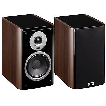 Heco Music Style 200, 2 Wege Bassreflex, espresso, 140 Watt max. 1 Paar