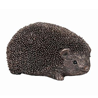 Frith Sculptures Wiggles Hedgehog Walking Small Bronze Figurine