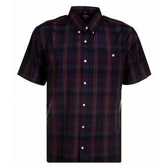 ESPIONAGE Espionage Check Short Sleeve Shirts