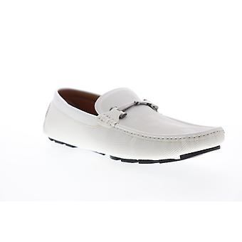 Unlisted by Kenneth Cole Hope Driver D  Mens White Casual Loafers Shoes