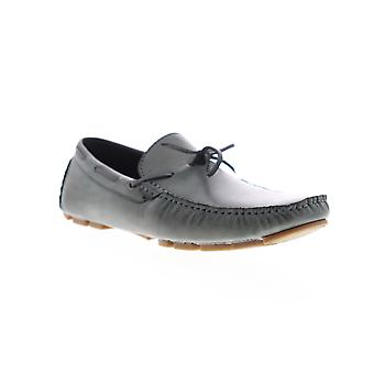 Unlisted by Kenneth Cole Hope Driver Mens Gray Casual Slip On Boat Shoes