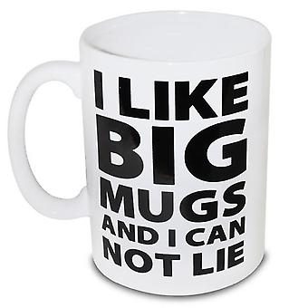 Bigmouth i like big mugs giant mug