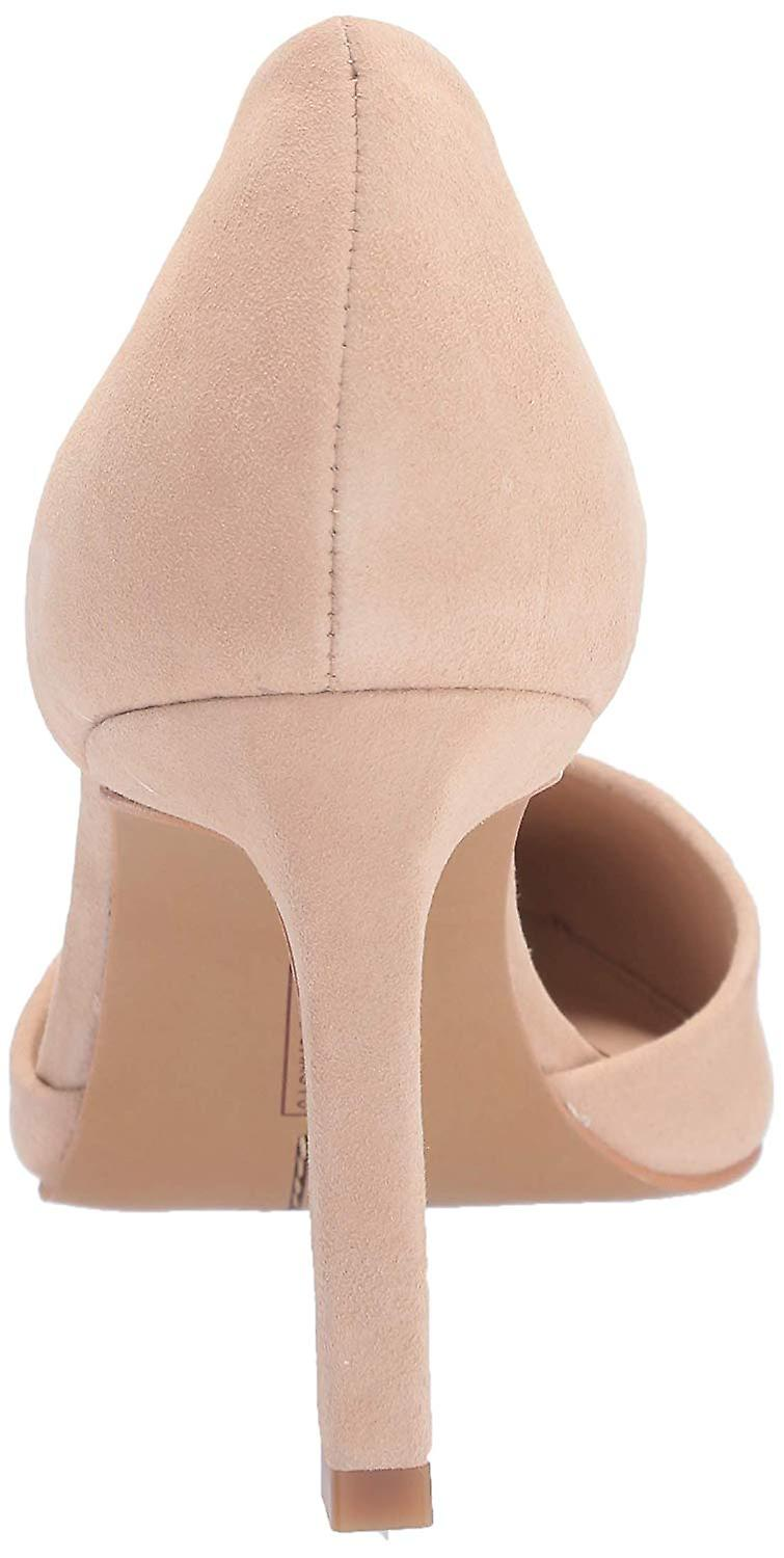Vince Camuto Women's Renny Leather Closed Toe Wrapped Heel D'Orsay Pumps pCPY1