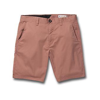 Volcom Frickin Modern Stretch 19 Shorts in Sandstone