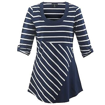 MARBLE Marble Navy Tunic 5648