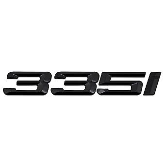 Gloss Black BMW 335i Car Model Rear Boot Number Letter Sticker Decal Badge Emblem For 3 Series E36 E46 E90 E91 E92 E93 F30 F31 F34 G20