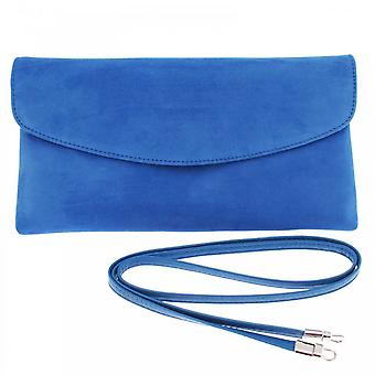 Peter Kaiser Electric Blue Winema Fold Over Clutch