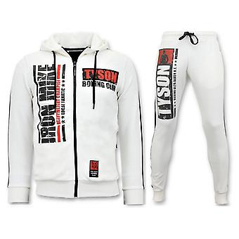 Jogging Suit – Iron Mike Tyson Boxing – White
