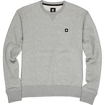 Element Men's Gebürstet Fleece Pullover 92CR grau Heidekraut
